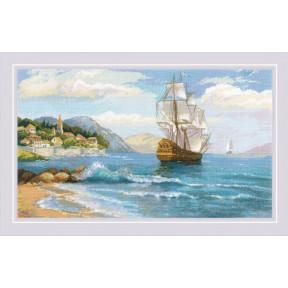 Набор для вышивания крестом Риолис К далеким берегам 1900 фото