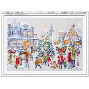Набор для вышивки крестом Чудесная игла Накануне Рождества