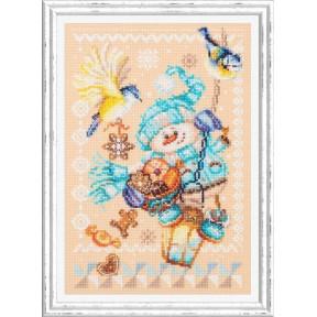 Набор для вышивки крестом Чудесная игла Рождественские гостинцы