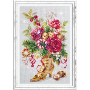 Набор для вышивки крестом Чудесная игла Рождественский сюрприз