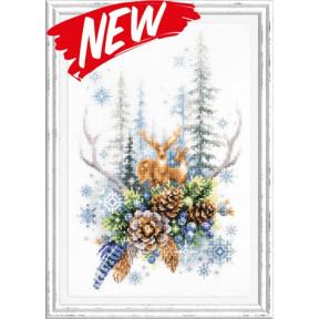 Набор для вышивки крестом Чудесная игла Дух зимнего леса