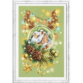 Набор для вышивки крестом Чудесная игла Светлое рождество