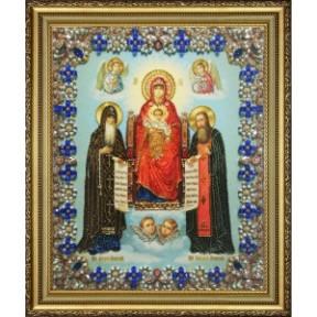 """Набор для вышивания Картины Бисером """"Икона Божией Матери"""