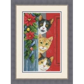 """Набор для вышивания крестиком OLanTa """"Hello, Christmas"""" VN-164"""