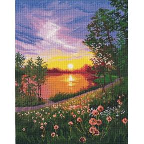 """Набор для вышивки крестом Овен """"Летний закат"""" 1356о фото"""