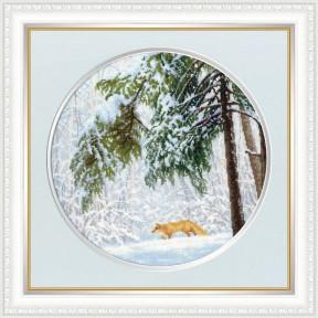 Набор для вышивки Золотое Руно Зимний лес ВМ-036 фото