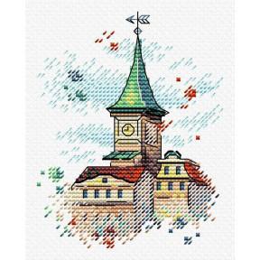 Набор для вышивки крестом МП Студия Крыши Таллина М-564 фото