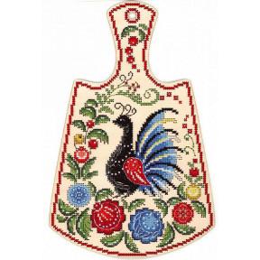 Набор для вышивания МП Студия Расписной павлин О-008 фото