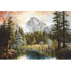 Набор для вышивки крестом Luca-S Величие природы B604 фото