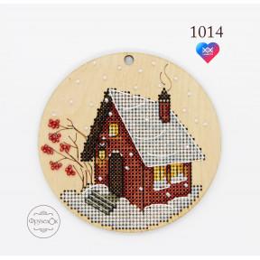 """Набор для вышивки крестом на деревянной основе ФрузелОк""""Уютная"""