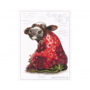 Ягодная корова RTO Набор для вышивки крестом M70041