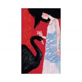 Черный лебедь RTO Набор для вышивки крестиком M793