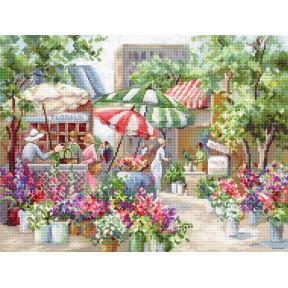 Цветочный рынок LETISTITCH Набор для вышивания LETI 978