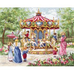 Набор для вышивания LETISTITCH Волшебные лошади / Magical Horses LETI 979