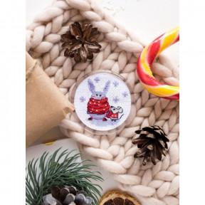 Радуемся снегу Абрис Арт Набор-магнит для вышивки крестом АРН-008