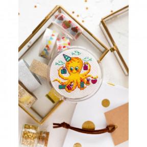 Подарки ко Дню рождения Абрис Арт Набор-магнит для вышивки крестом АРН-007