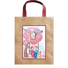 Качельки Абрис Арт Набор-сумка для вышивания бисером АСА-008
