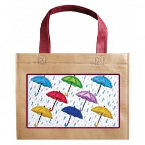 Зонтики Абрис Арт Набор-сумка для вышивания бисером АСА-004