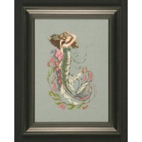 The South Seas Mermaid / Русалка южных морей Mirabilia Designs Схема для вышивания MD92