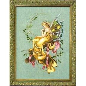 Woodland Fairie / Лесная фея Mirabilia Designs Схема для вышивания MD67