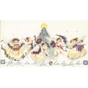 Crystal Christmas / Хрустальное рождество Mirabilia Designs Схема для вышивания MD28