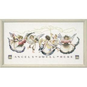Angel Proclamation / Провозглашение ангела Mirabilia Designs Схема для вышивания MD25