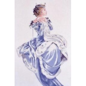Winter Queen / Зимняя Королева Mirabilia Designs Схема для вышивания MD13