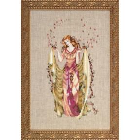 Forest Goddess / Богиня леса Mirabilia Designs Схема для вышивания MD87