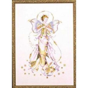 July's Amethyst Fairy / Июньская жемчужная фея Mirabilia Designs Схема для вышивания MD52