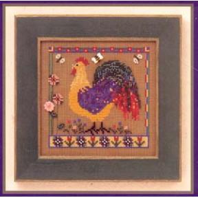 Spring Rooster / Весенний петух Mill Hill Набор для вышивания крестом MHCB158