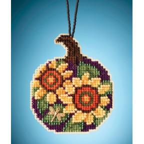Sunflower Pumpkin / Подсолнечная тыква Mill Hill Набор для вышивания крестом MH162022