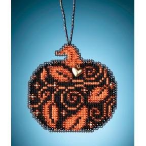 Glowing Pumpkin / Сияющая тыква Mill Hill Набор для вышивания крестом MH162023