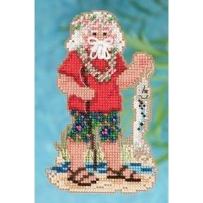 Tahiti Santa / Таитянский Санта Mill Hill Набор для вышивания крестом MH202302