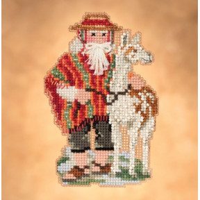 Andes Santa / Андес Санта Mill Hill Набор для вышивания крестом MH201932