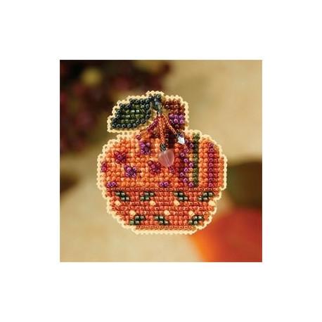 Jeweled Pumpkin / Ювелирная тыква Mill Hill Набор для вышивания крестом MH187205