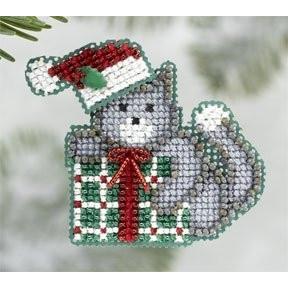 Kitty's Gift / Подарок для Китти Mill Hill Набор для вышивания крестом MH186305
