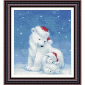 Набор для вышивания Kustom Krafts 98057 Рождество полярных