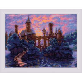 Таинственный замок Риолис Набор для вышивания крестом 1909