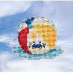 Beach Ball / Пляжный мяч Mill Hill Набор для вышивания крестом MH181916