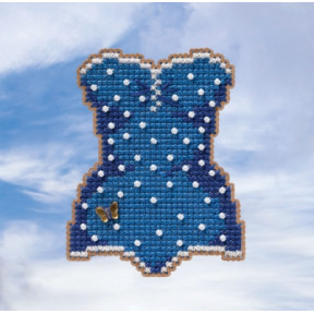 Swimsuit / Купальник Mill Hill Набор для вышивания крестом MH181915