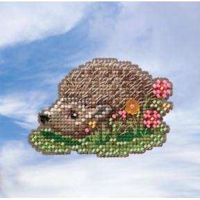 Hedgehog / Ежик Mill Hill Набор для вышивания крестом MH181913