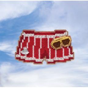 Swim Trunks / Плавки Mill Hill Набор для вышивания крестом MH181912