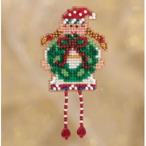 Holli Elf / Праздничный ельф Mill Hill Набор для вышивания крестом MH181832