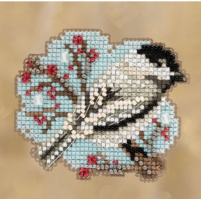 Little Chickadee / Маленькая синичка Mill Hill Набор для вышивания крестом MH181831