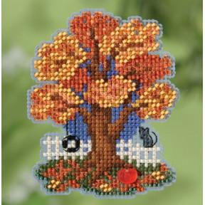 Fall Tree / Осеннее дерево Mill Hill Набор для вышивания крестом MH181824
