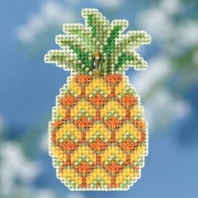 Pineapple / Ананас Mill Hill Набор для вышивания крестом MH181816