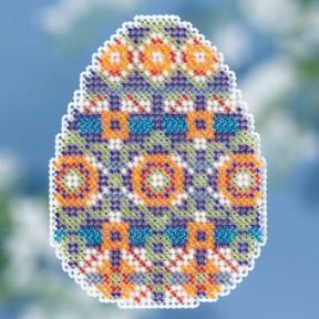Mosaic Egg / Яйцо Мозаика Mill Hill Набор для вышивания крестом MH181815