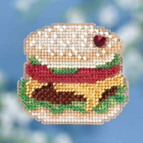 Hamburger / Гамбургер Mill Hill Набор для вышивания крестом MH181811