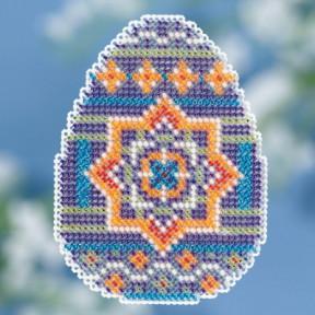 Medallion Egg / Яйцо Медальйон Mill Hill Набор для вышивания крестом MH181812