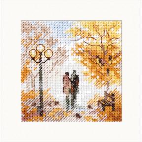 """Набор для вышивки крестом Алиса """"Осень в городе. Старый парк"""" 0-220"""